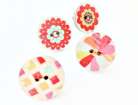 NEW! Mini button pins