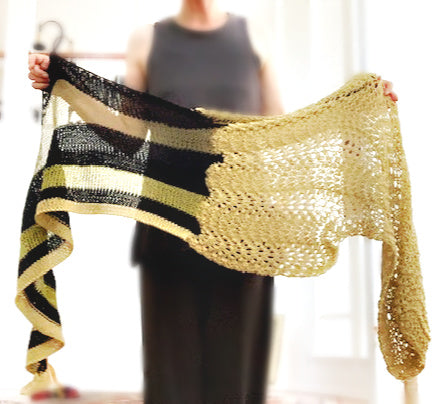 NEW! Ellwood shawl kit