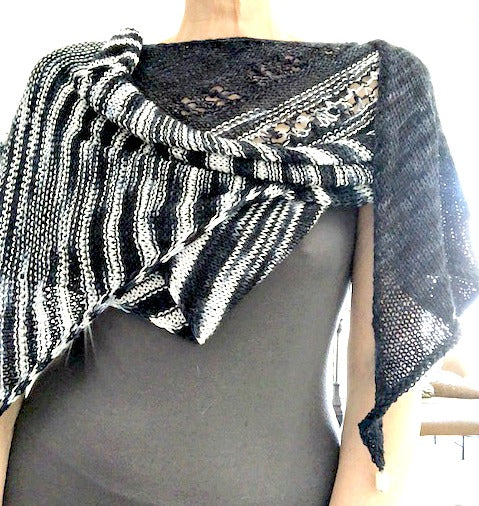 Showstop shawl pattern