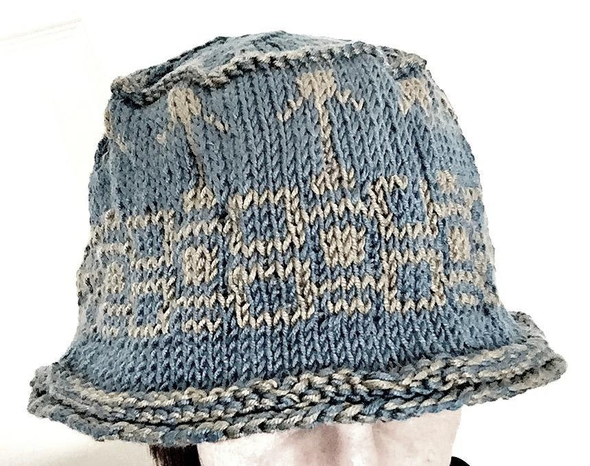 Under Cover Hat pattern