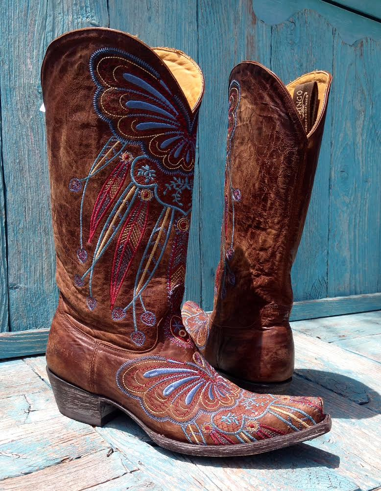 Lakota Embroidered Boots