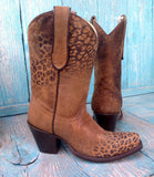 Short Cheetah Boots