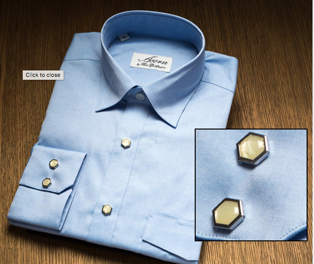 Pinpoint Blue Remington 2 Pearl Snap Shirt
