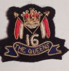 The Queens Vintage Gold Bullion Patch