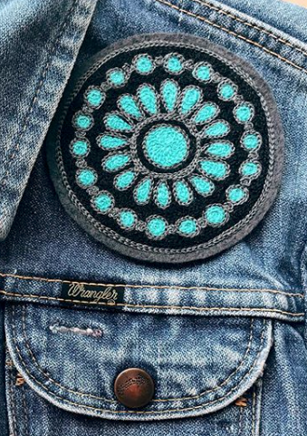 Turquoise Pendant Patch