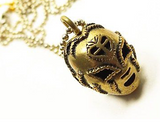 Tres Luchas Mask Necklace