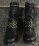 Frye Studded Ankle Boots 7 Preowned