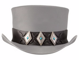 Lace Diamond Concho Hat Band