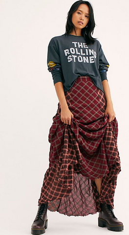 Prairie Dreams Maxi Skirt
