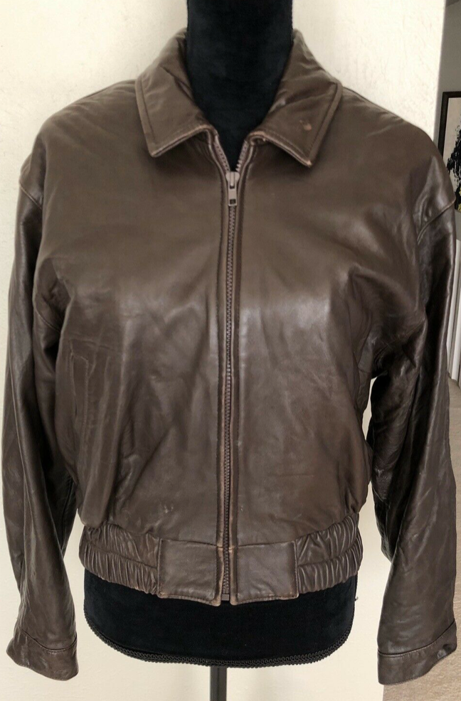 VIntage Stallion Leather Jacket M