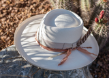 Stetson Kings Row Natural Hat w/ Peach Band