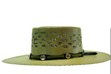 Charlie 1 Horse Green Palm Beach Hat