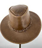 Oiled Aussie Leather Hat