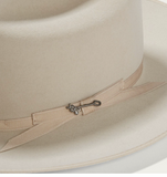 Stetson Royal Deluxe Open Road 6X Fur Felt Hat Silverbelly
