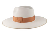 Stetson Tri-CIty Royal Deluxe Wide Brim Fedora Hat Silverbelly