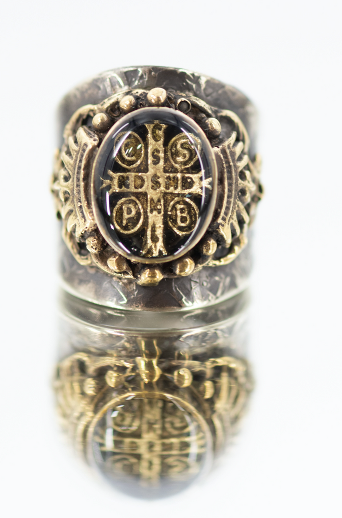 San Benito Cross Band Ring