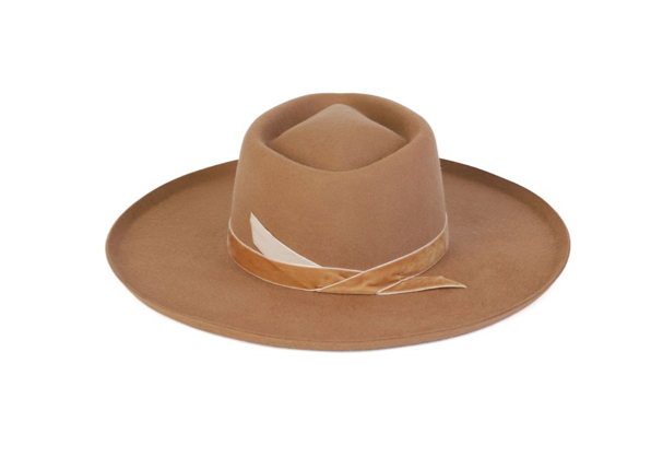 Val Diamond Hat in Desert Teak Brown