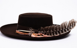 Stetson Kings Row Royal Deluxe Firm Felt Hat Chocolate