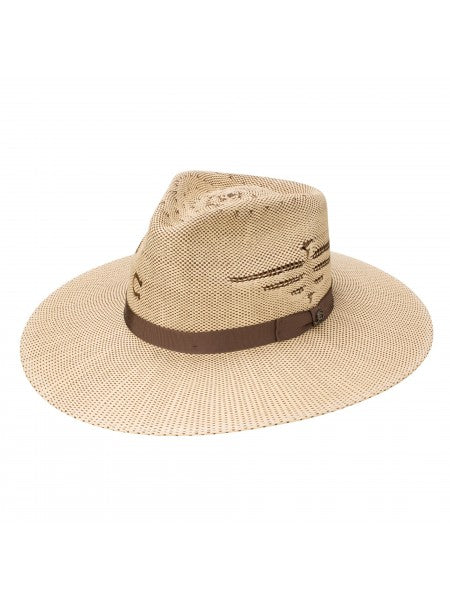 Charlie 1 Horse Unisex Mexico Shore Straw Hat with Thunderbird