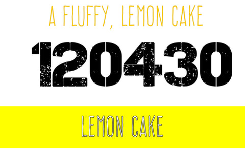 120430 - Lemon Cake - 120ml Max VG E-Liquid