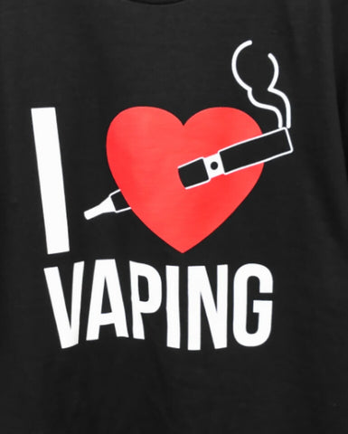 I Heart Vaping - T-Shirt