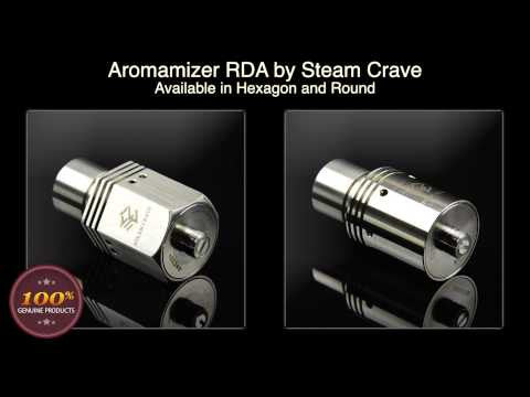 Authentic Steam Crave Aromamizer V1