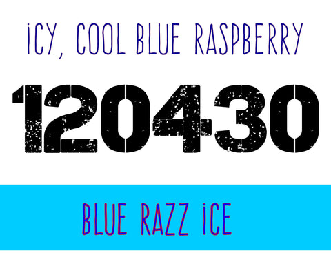 120430 - Blue Razz Ice - Max VG E-Liquid