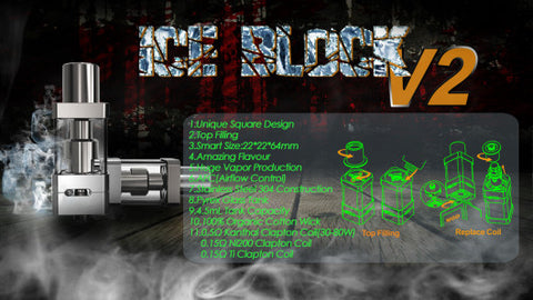 Ice Block V2 Sub Ohm Temperature Control Tank