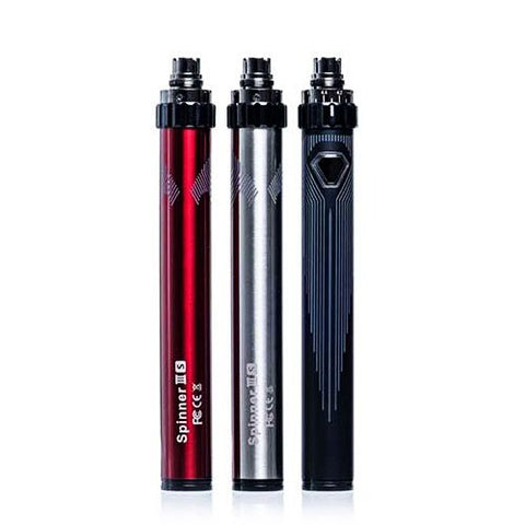 Spinner IIIS 1600mAh 510/eGo Battery w/USB Passthrough