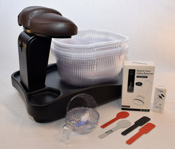 5 Items Manicure/Pedicure Kit (With Footsiebath Liners)