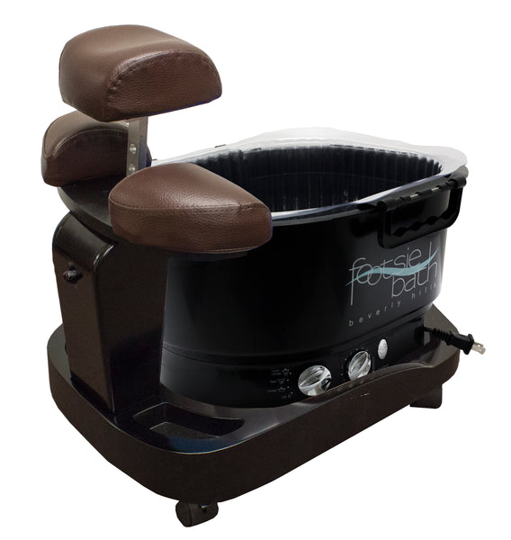 Milan Portable Pedicure Spa With Footsiebath