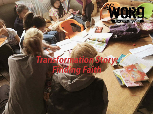 Transformation Story: Finding Faith