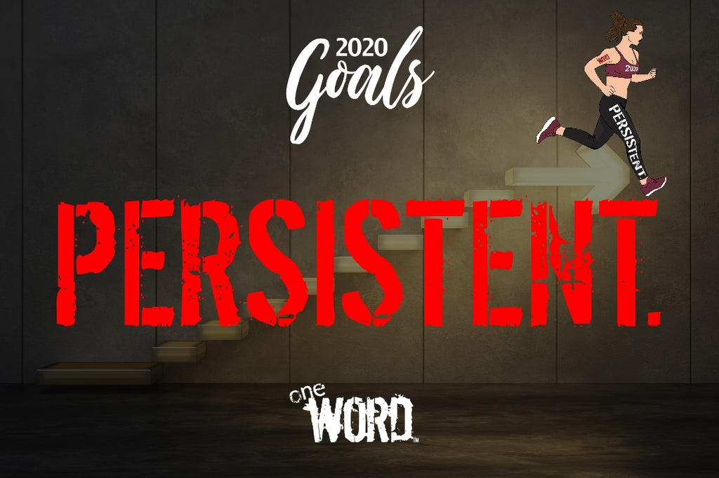 Want to Achieve Your Goals for 2020? Being PERSISTENT. Will Take You There