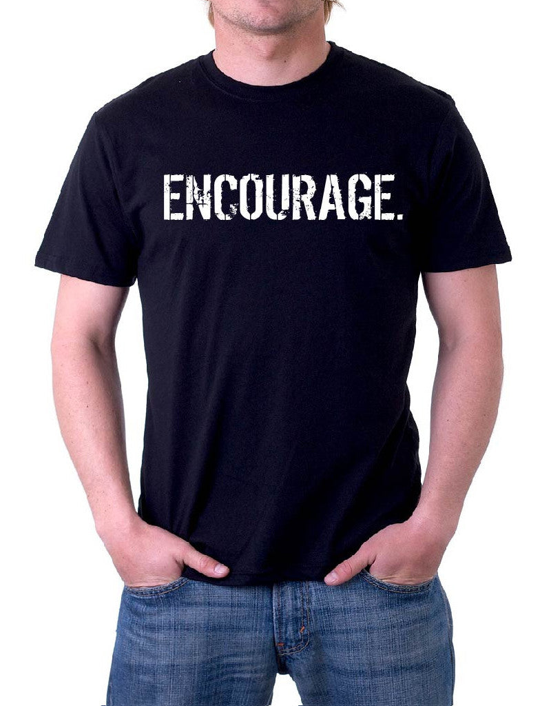 B&W Men's oneWORD ENCOURAGE Shirt