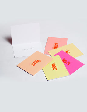 the word changes logo SUCCESS pack - Greeting Cards