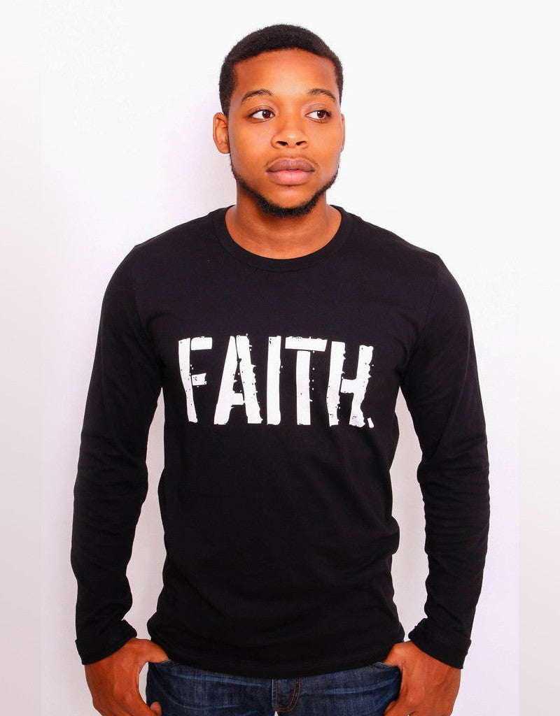 Men's FAITH. Long Sleeve T-Shirt