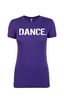 Women's DANCE. T-Shirt