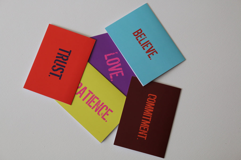 The LOVE. pack - Greeting Cards