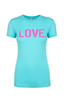 Women's LOVE. T-Shirt