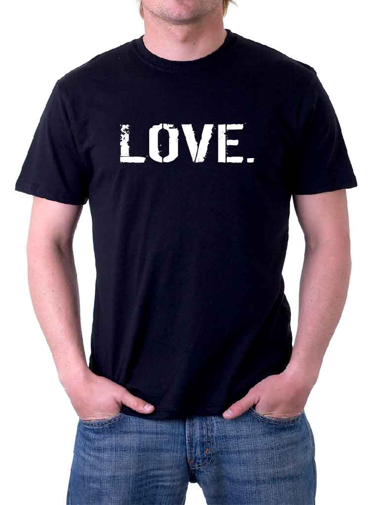 B&W Men's oneWORD LOVE Shirt