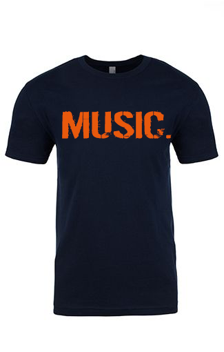 Men's MUSIC. T-Shirt