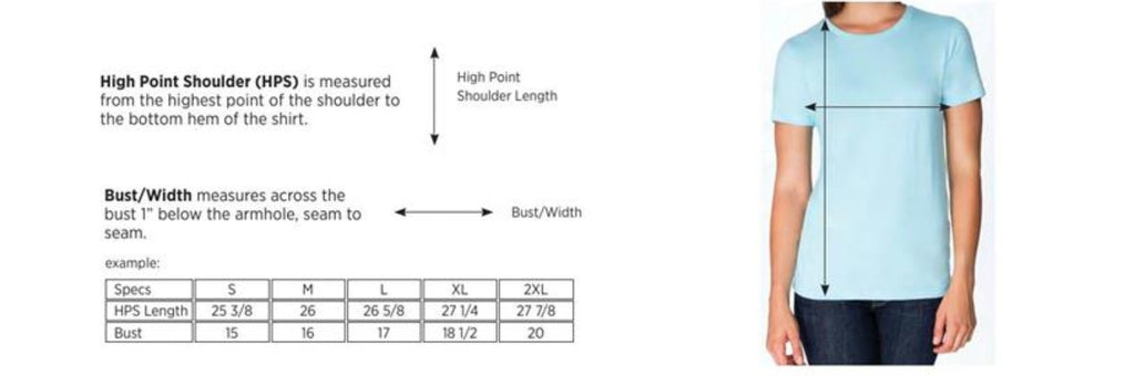 Women's FEARLESS. T-Shirt (Royal Blue)