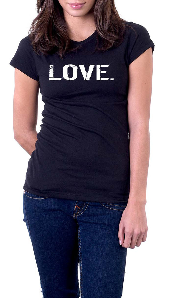 B&W Women's oneWORD LOVE T-shirt