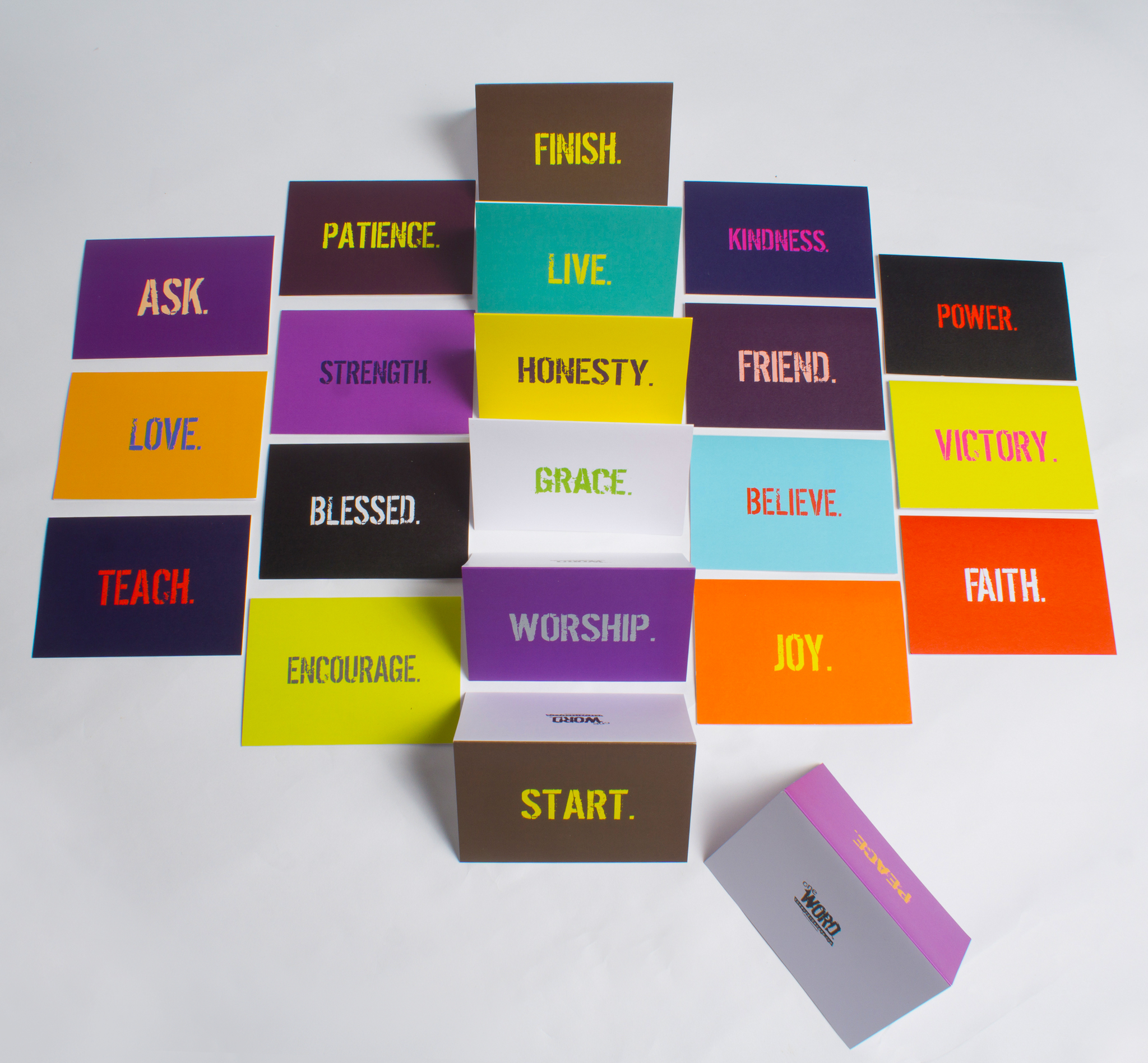 Inspirational greeting cards the word changes oneword greeting cards m4hsunfo