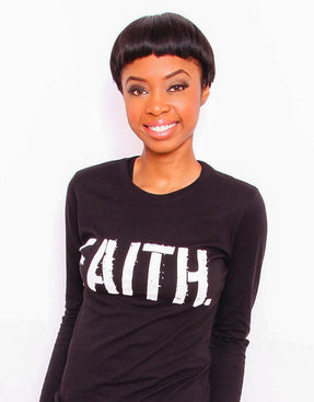 Women's FAITH. Long Sleeve T-Shirt