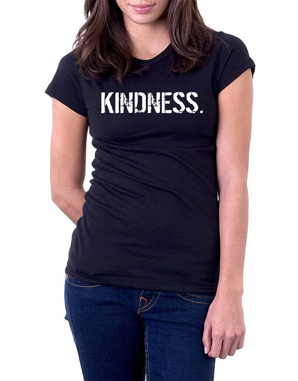B&W Women's oneWORD KINDNESS T-shirt