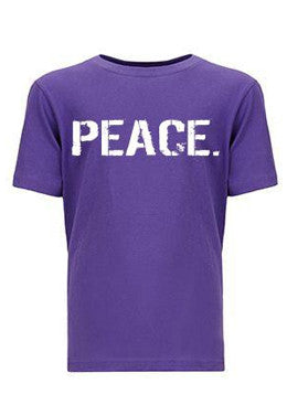 Kid's PEACE. T-Shirt (Boys)