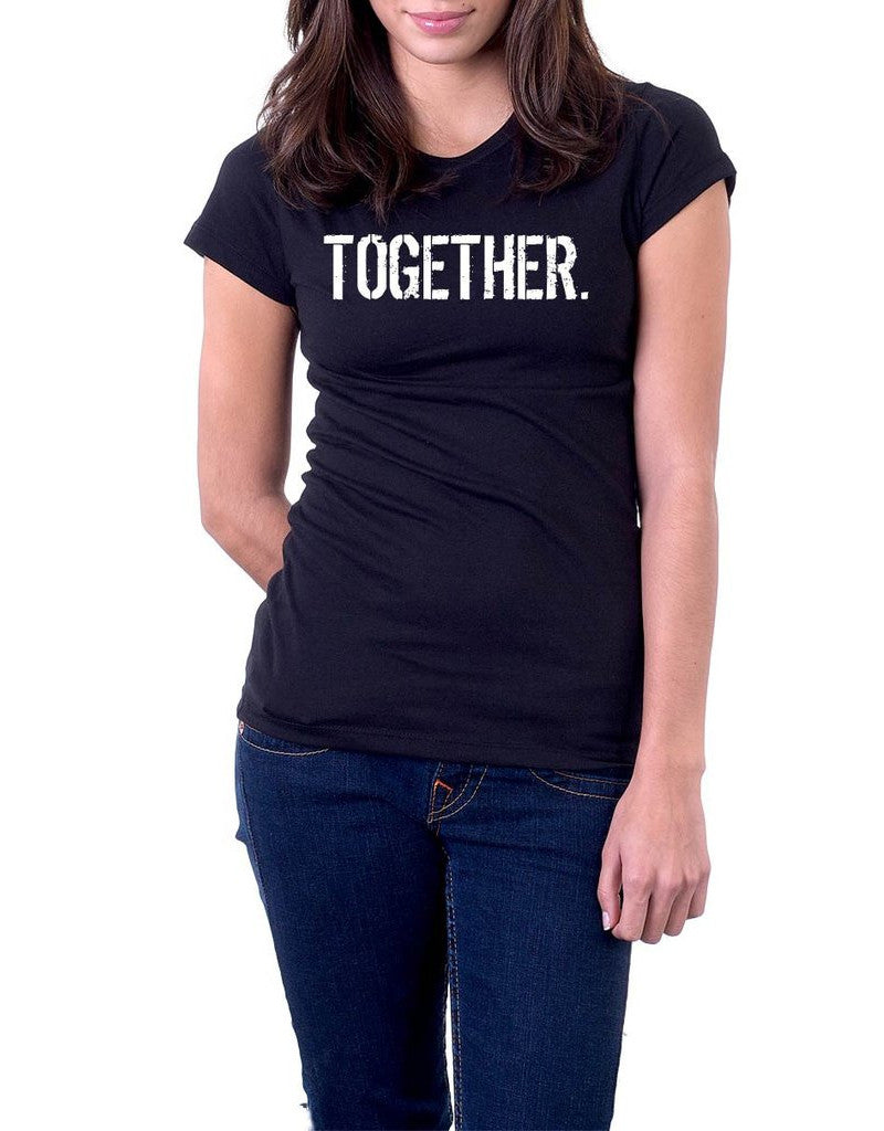 B&W Women's oneWORD TOGETHER T-shirt