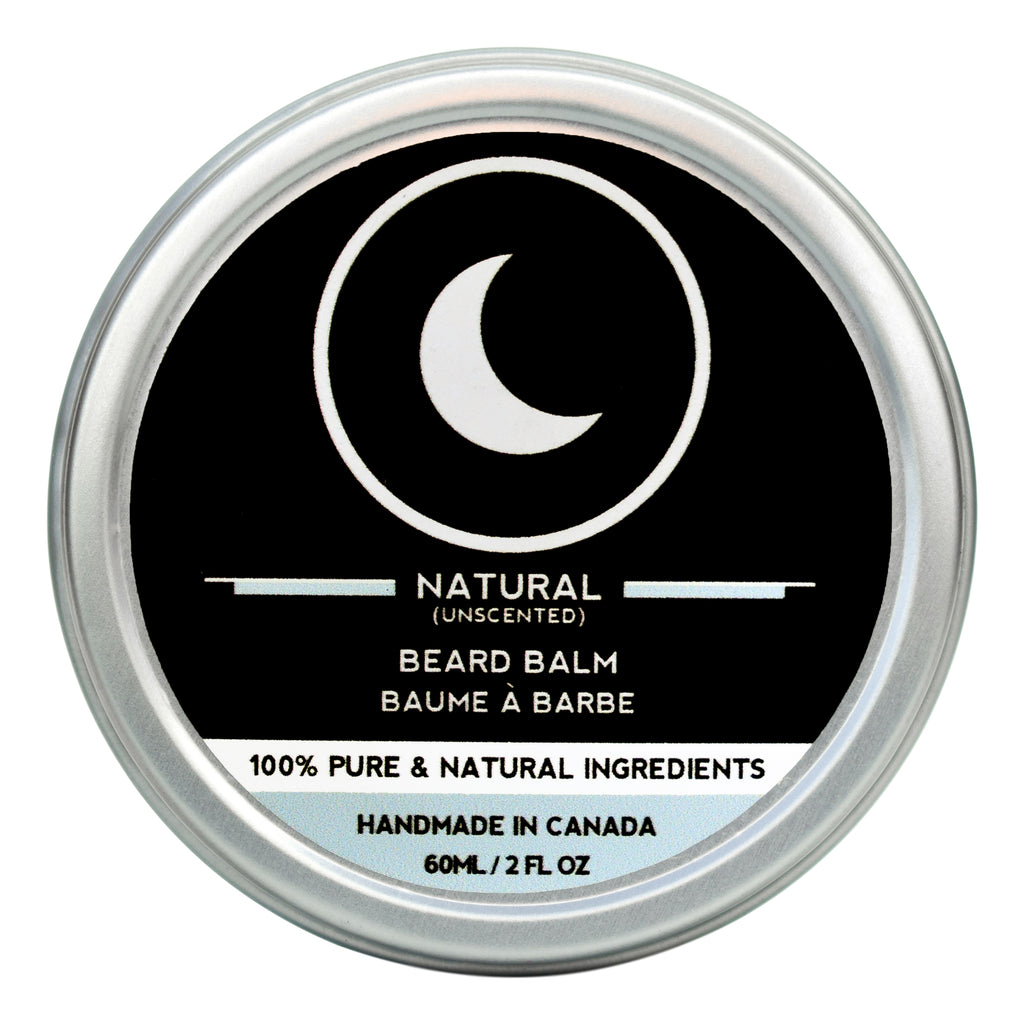 Beard Balm - Natural (Unscented) (60ml)