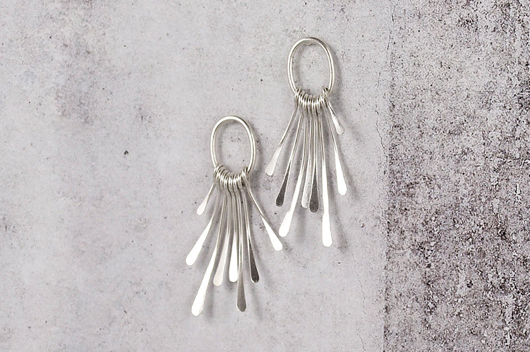 fringe element earring